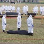 Militares se capacitan para manejo de cuerpos con Covid-19