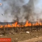 Incendio de gran magnitud afecta predio del aeropuerto Silvio Pettirossi