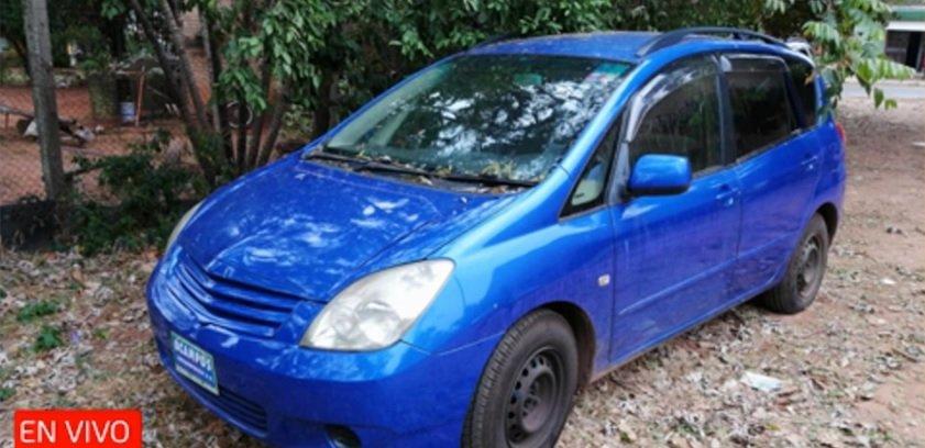 Encuentran vehículo utilizado en sicariato de Fernando de la Mora