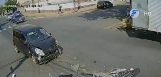 Motociclista fallece en violento percance vial
