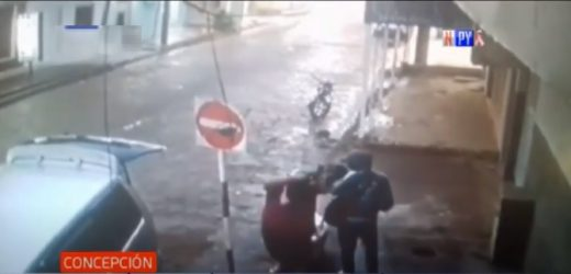 Violento asalto a comerciante en Concepción