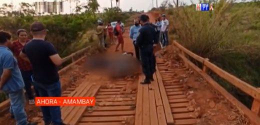 Asesinan a un guardia de seguridad en Amambay
