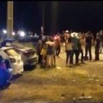 Carrera clandestina culmina en violento accidente de tránsito