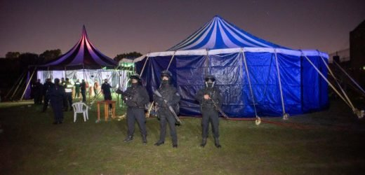 Fiesta clandestina en Argentina reunió a 1200 personas