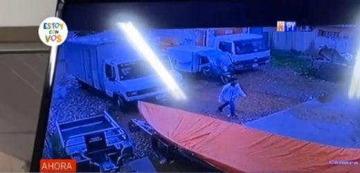 Delincuentes se alzan con millonario botín tras violento asalto en Concepción