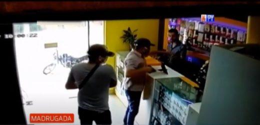 Actuar impune de delincuentes es captado en cámaras