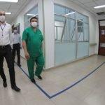 Covid-19: Hay 244 personas en UTI y 15 nuevos muertos