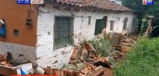 Segunda muerte tras temporal: Abuela muere por derrumbe de muralla