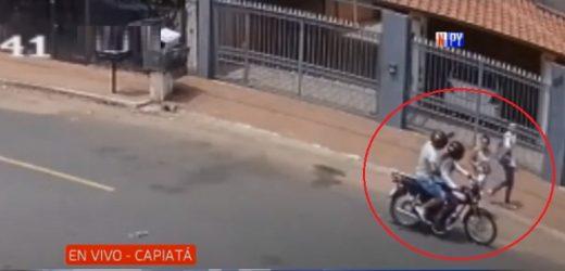 Delincuentes roban impunemente a plena luz del día en Capiatá