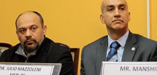 """""""Te espera la arena política"""": la llamativa despedida de Julio Rolón a Mazzoleni"""