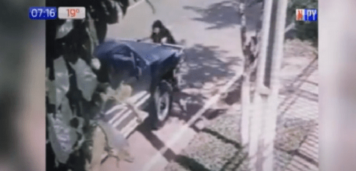 Capturan a ocupantes de vehículo que atropelló a ciclista en Guairá