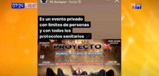 """""""Ubicación al privado"""": Así organizan fiestas clandestinas"""