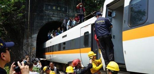 Tragedia en Taiwán: Más de 50 personas mueren por descarrilamiento de tren