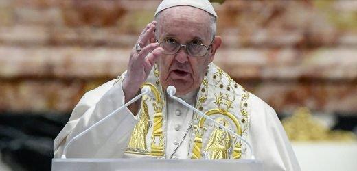 Urbi et Orbi: El papa pide compartir vacunas a los países pobres