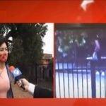 Motochorros atacan a joven que aguardaba un bus