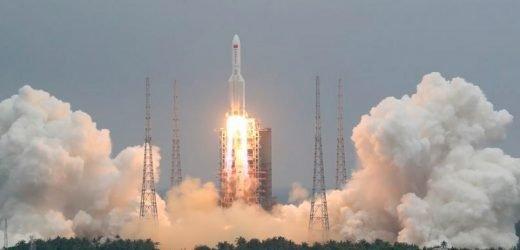 Preocupa cohete chino fuera de control que reingresará a la tierra