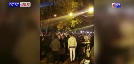 Descontrol obliga a suspender mesas al aire libre en Ciudad del Este