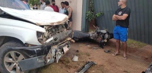 Luque: Camioneta atropella a agentes linces