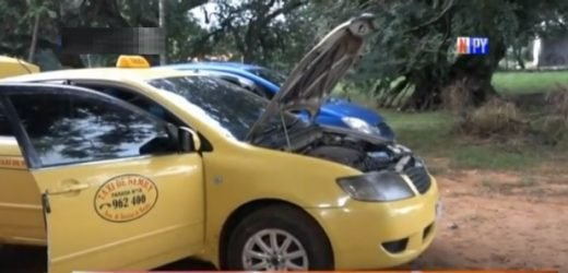 Taxista fue asaltado y encerrado en la valijera de su propio auto