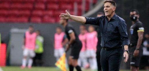 "Berizzo destaca la entrega del equipo, ""Nos faltó esa jugada final"""