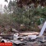 Inadaptados queman casa de humilde familia