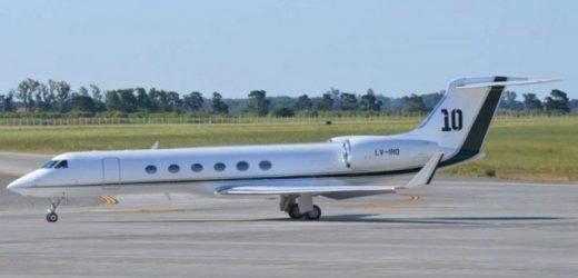 Jets privados de Argentina a Paraguay como una 'vía de escape' al exterior