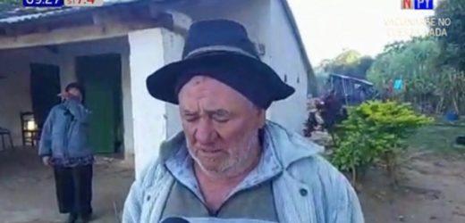 Violento asalto a humilde pareja de ancianos en Carapeguá