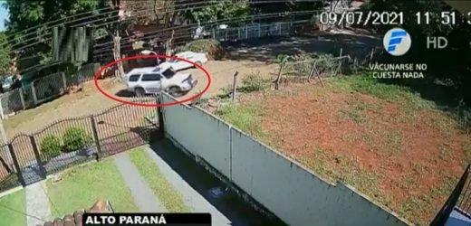 Funcionario de Aduanas fue atacado a balazos frente a su casa