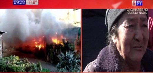Voraz incendio consume varios puestos del Paseo de los Yuyos
