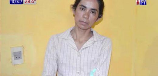 Trasladan a Laura Villalba a penitenciaría de Itapúa