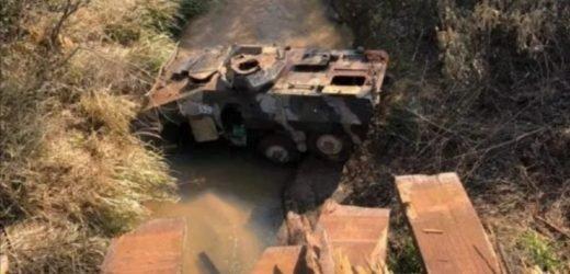 San Pedro: Miembros de las Fuerzas Armadas sufren accidente