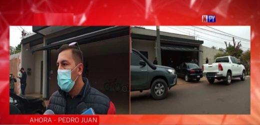 Mega operativo contra el narcotráfico en Amambay