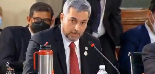 Abdo dice a Maduro que no reconoce su gobierno