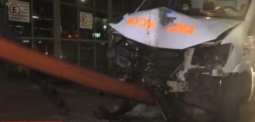 Ambulancia protagoniza fatal accidente en San Lorenzo