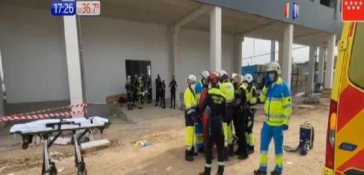Derrumbe de edificio en Madrid deja un paraguayo muerto y dos compatriotas heridos