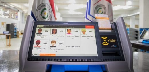 Paso a paso: Así se usa la máquina de votación