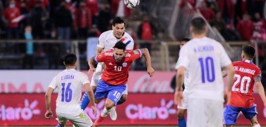 Dura derrota de Paraguay en Chile