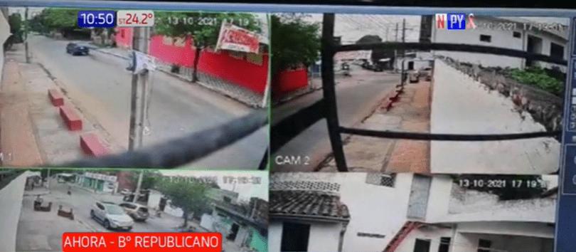 Ladrón hiere a un comerciante en Asunción luego de asaltarlo