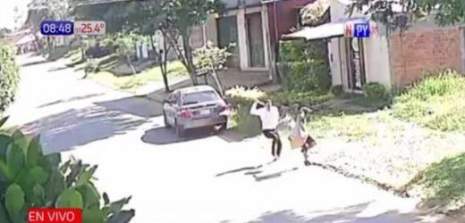 Hombre apaleó a un presunto ladrón en Luque