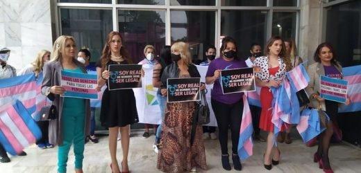 Personas trans exigen rectificación de nombres al Poder Judicial